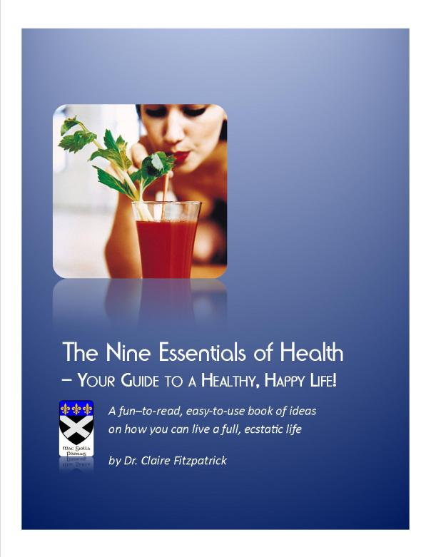 Nine essentials of health cover